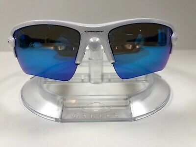 39ee6a3428 NEW OAKLEY - Flak 2.0 XL Sunglasses Polished White   Sapphire ...