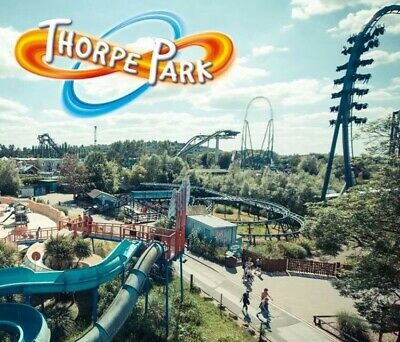 4 X Thorpe Park Resort tickets 6th July 2019 Saturday