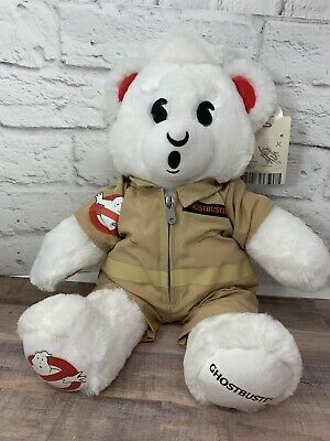 Build a Bear BAB GHOSTBUSTER Bear w/ Uniform & Sounds (Ghostbusters Song) NWT
