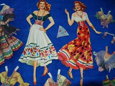 Rita Hayworth As Carmen, Beautiful Dolls And Clothes,Cut, Great Condition