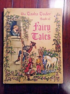 "Vintage ""The Tasha Tudor Book of Fairy Tales"" 1969 Good Condition"