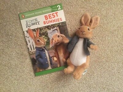 New Peter Rabbit Movie Book & Soft toy  - Best Bunnies - Penguin Young Reader