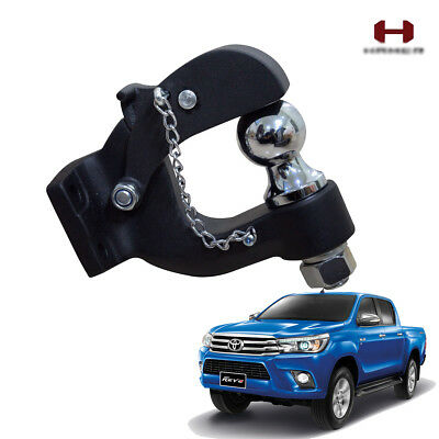 Bumper Tow Hitch Ball Hamer Matte Black For Toyota Hilux Revo SR5 2016 17 18 UTE