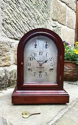 A superb Westminster chiming clock by Kienzle New York 1910 Fantastic condition