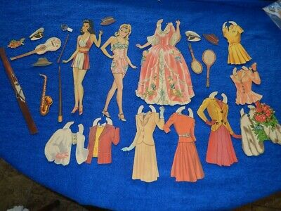 Miss Hollywood, Lilja Set From 1942, Wonderful Costumes! Not A Reproduction