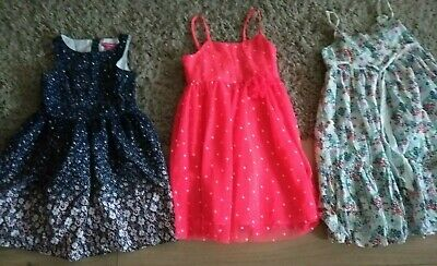 Bundle of 3 Girls Summer / Party Dresses Age 5-6 years