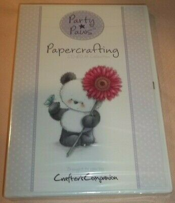 Party Plus Papercrafting (CD-ROM, Crafters Companion) New Unopened!