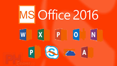 MS Office Professional Plus 2016 DVD - New Genuine 1 PC Install