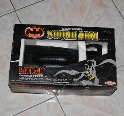 TAKARA Vintage BATMAN Sound Arm 1989 Box Japan Toy RARE