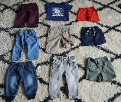 Baby Boys Clothes Bundle 3 Months Jeans Shorts Chinos T-shirt VGC