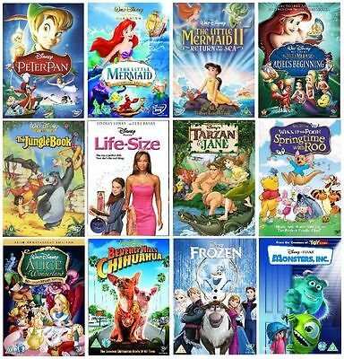 Disney 12 MOVIE Collection DVD
