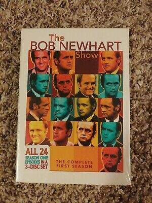 NEW The Bob Newhart Show - The Complete First Season 1 (DVD, 2005, 3-Disc Set)