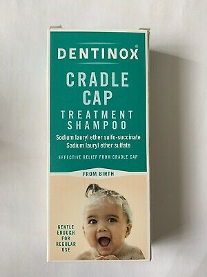 Dentinox Cradle Cap Baby Shampoo 125ml Brand New