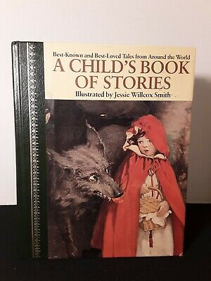 A Child's Book of Stories JESSIE WILLCOX SMITH Vintage Children's Fairy Tales HB