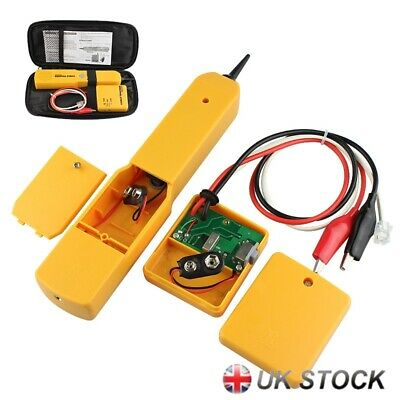 RJ11 Wire Tone Generator Probe Tracer Network Tracker Line Finder Cable Test UK