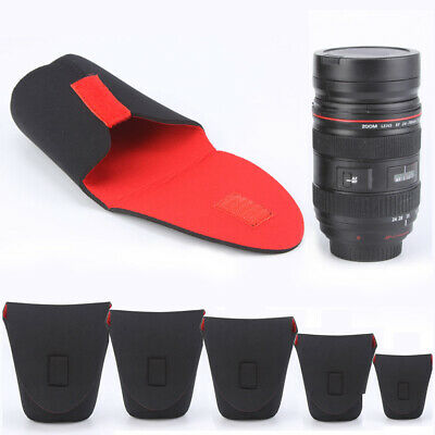High Quality Neoprene Waterproof Lens Pouch Bag Case Protector For DSLR Camera