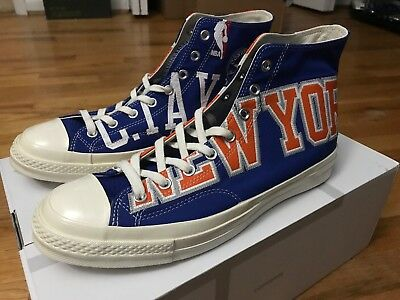 on sale 60c48 0a90f Converse Chuck Taylor All Star 70 New York Knicks Gameday Jersey High Top  Blue