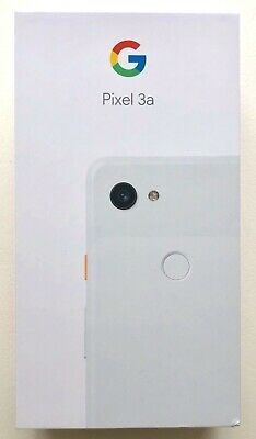 Google Pixel 3a 64GB Cell Phone (Unlocked) - Clearly White - NEW & SEALED!