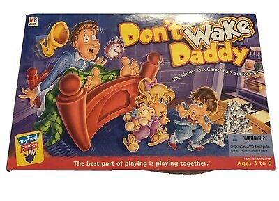 Don't Wake Daddy Milton Bradley Board Game 2001 Complete WORKS