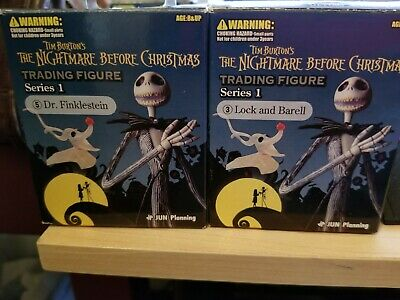 NEW Nightmare Before Christmas Dr. Finklestein Trading Figure Series 1 Oogie Boo