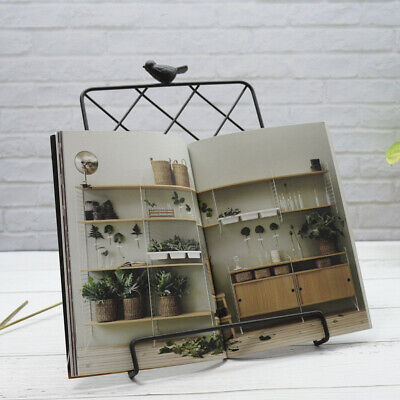 1pc Magazine Rack Creative Nordic Style Iron Art Magazine Newspaper Display Rack