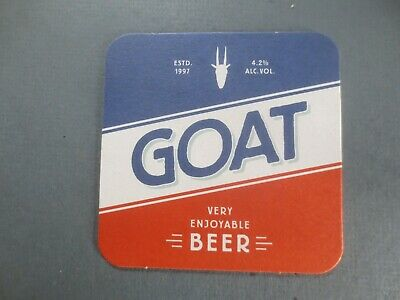 1 only Mountain Goat Craft Brewery,Victoria, BEER COASTER  latest issue