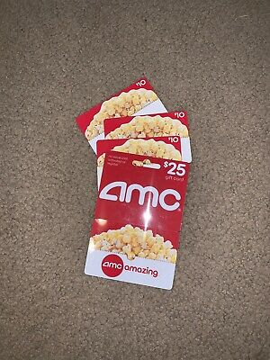 AMC Movie Theaters gift card Lot.