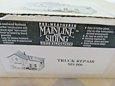 Truck Repair - Mainline & Siding - Wood Craftsman - Out of Production Truck Repa