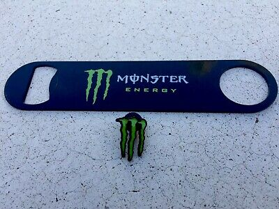 Monster Energy Drink Bottle Opener Combo You Receive Both Items.  Free Shipping