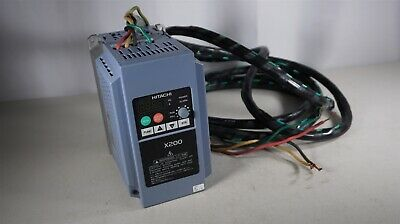 Hitachi X200-022HFU 380-480 Volts 3 Phase 3 HP 5.5 Amps Inverter - Made in Japan