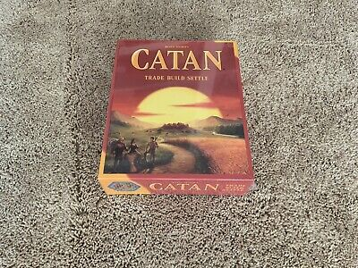catan: settlers of catan board game NIB - With Wrapping