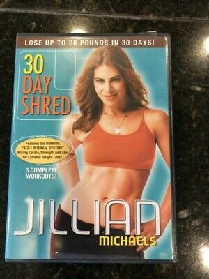 Jillian michaels 30 day shred DVD used just once