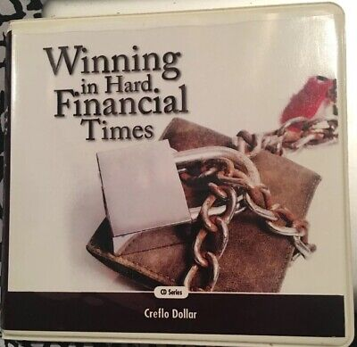 "Audiobook On Cd ""Winning In Hard Financial Times"" By Creflo Dollar 6 Cds"