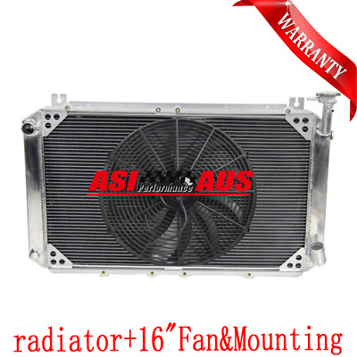 Back To Search Resultsautomobiles & Motorcycles Auto Replacement Parts Fans For Nissan Gq Patrol Y60 4.2l Petrol Mt Brand New 3 Row 52mm New All Aluminum Racing Radiator