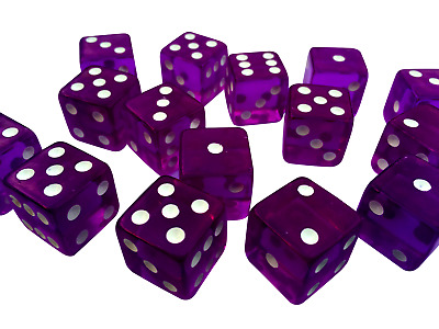 Opaque dice 10 14 16mm Six Sided Spot Dice D6 RPG for Ludo Monopoly Board Games