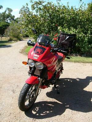 CLUB Plate Eligible COLLECTABLE 1991 RED Yamaha TDM 850 ADVENTURE MOTORBIKE