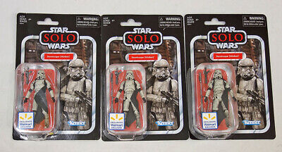 2018 Hasbro Star Wars Vintage Collection SOLO Stormtrooper (Mimban) Lot of 3 MOC