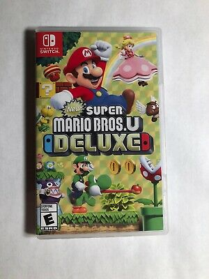 New Super Mario Bros. U Deluxe - (Nintendo Switch, 2019) COMPLETE