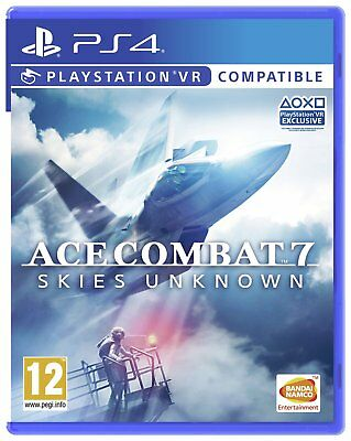 Ace Combat 7: Skies Unknown Sony Playstation PS4 Game 12+ Years