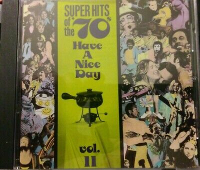Super Hits of the '70s: Have a Nice Day, Vol. 11 by Various Artists (CD,...