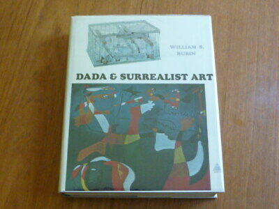 "Surrealism: Rubin: ""Dada & Surrealist Art"" 1st Ed.HC Book w/DJ Abrams 1968"