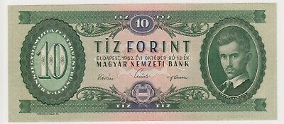 (N32-29) 1957 Hungary 20 FORINT bank note (AD)