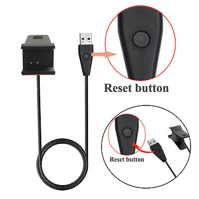 USB CHARGING CHARGER Cable w/ Reset Button for Fitbit Ace
