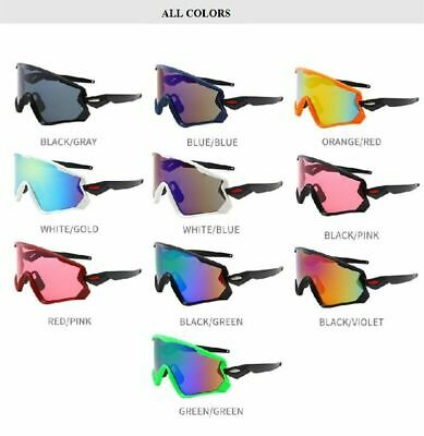 Men's Sport Cycling Bicycle Polarized Sunglasses Outdoor Driving Eyewear Glasses