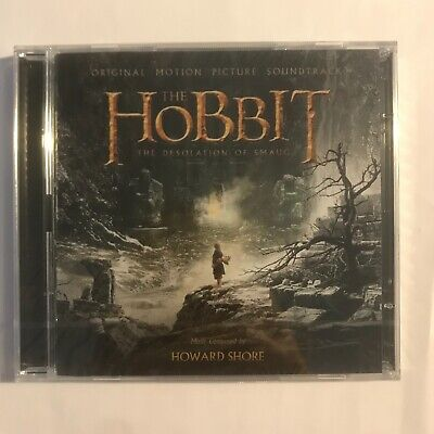 The Hobbit The desolation of smaug by Howard Shore 2 cd neuf sous blister