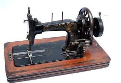 Antique Frister & Rossmann Hand Crank Sewing Machine c1869-1875 [5197]