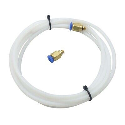 2 Meter PTFE Tubing For Bowden Tube ID OD Extruder+1.75mm Fitting Filamen