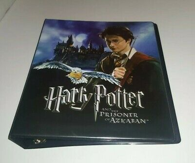 Harry Potter And The Prisoner Of Azkaban Trading Card Binder (Artbox, 2004)