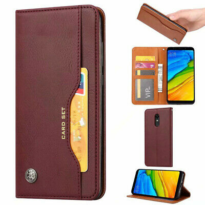 Magnetic Wallet Leather Card Holder Flip Stand Case Cover For OnePlus 7 Pro 6T