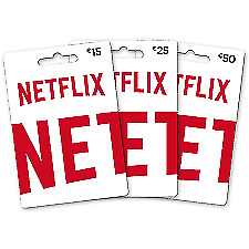 Netflix Giftcard - Email Delivery